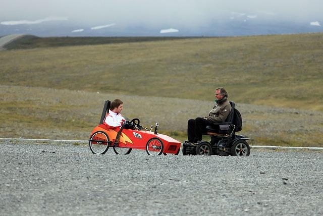 Fauteuils roulants électriques pour personnes âgées